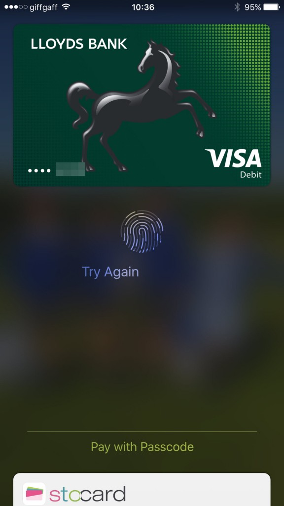 Access Wallet from lock screen