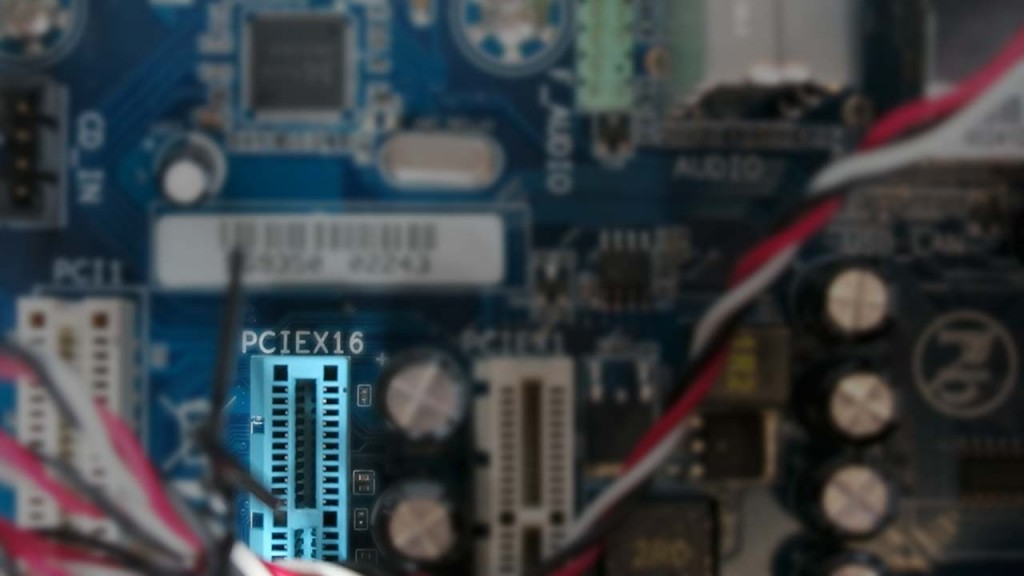 PCIEx16 Slot for video card