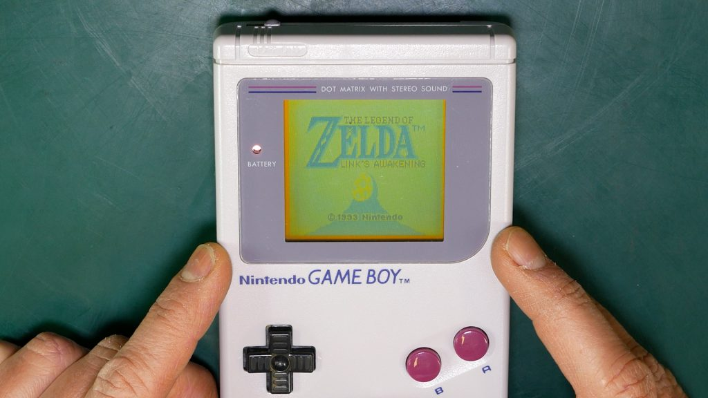 Repaired Nintendo Game Boy