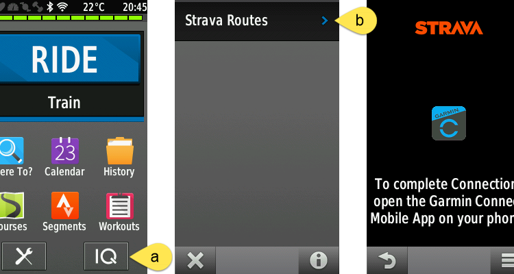 Strava routes on your Garmin Edge – the easier way …