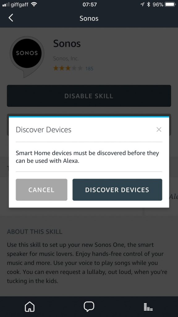 Tap Discover Devices