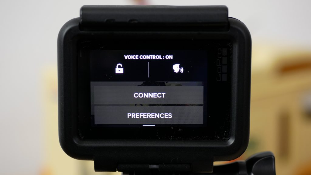 Turning voice control on