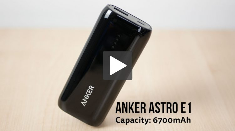 Anker Astro E1 6700mAh review. Is this the best value portable charger?
