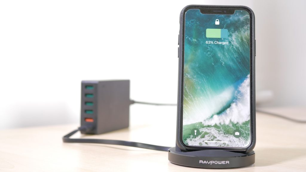 RavPower 10W charging stand