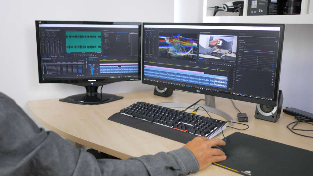 Dual screen setups provide even more screen space, but an ultrawide offers a versatile single screen alternative