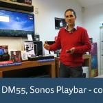 Sonos Playbar versus Canton DM55 Soundbase – review
