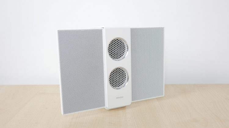 BenQ treVolo S electrostatic Bluetooth speaker review. Portable, HiFi quality?