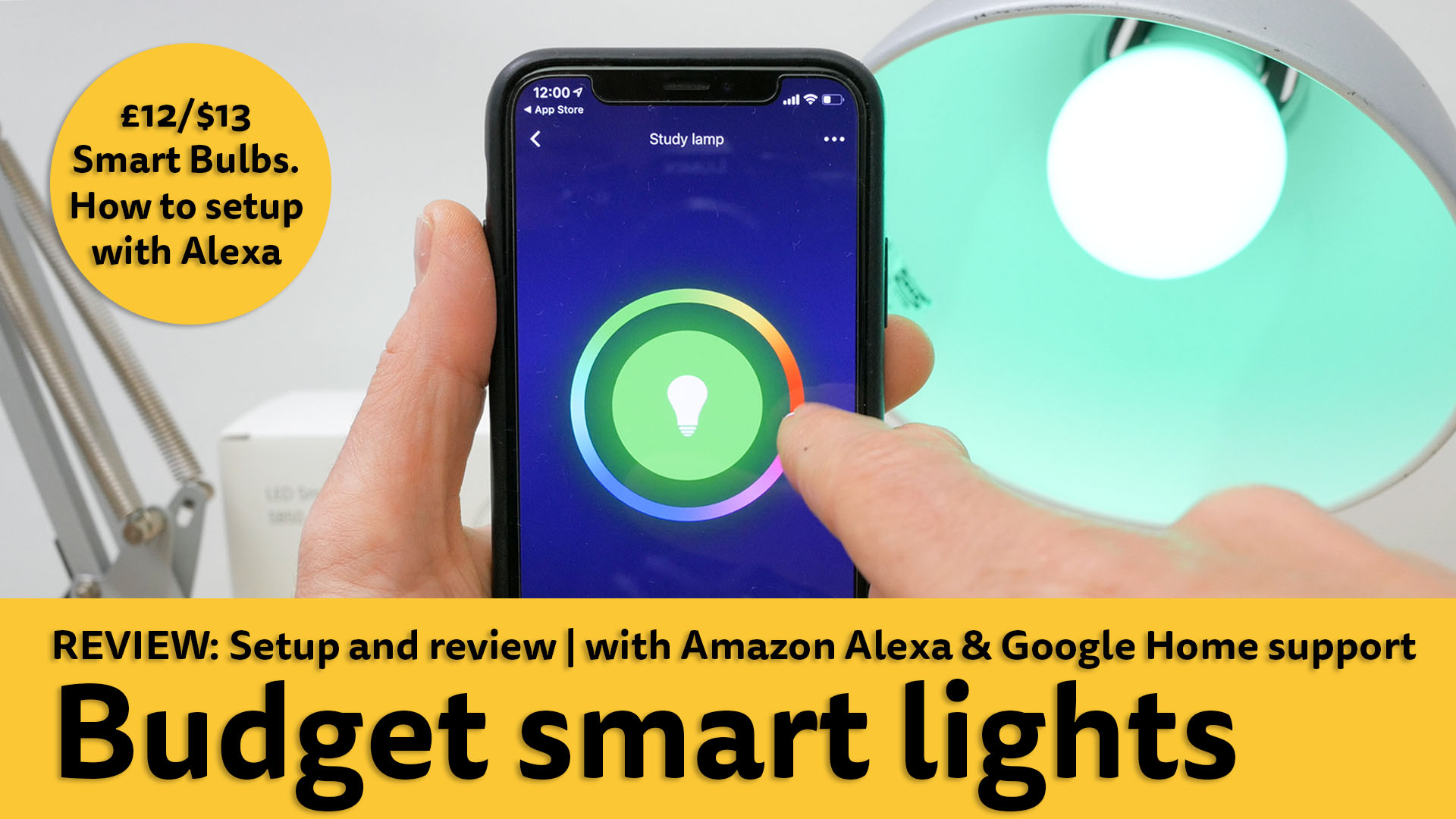 Teckin budget smart light setup and review | With Alexa and