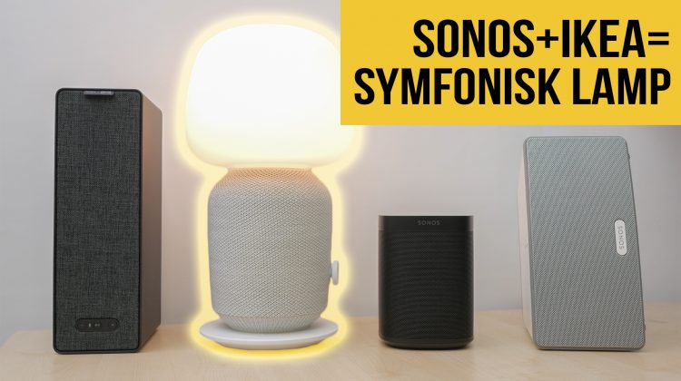 Ikea Sonos Symfonisk review | Wireless speaker lamp | Sound test | Setup including smart lighting