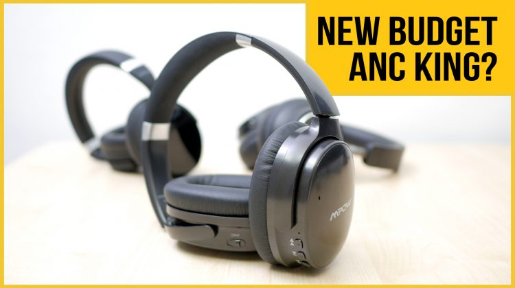 Mpow H10 Active Noise Cancelling (ANC) wireless headphones review | vs H5 | vs TaoTronics BH046