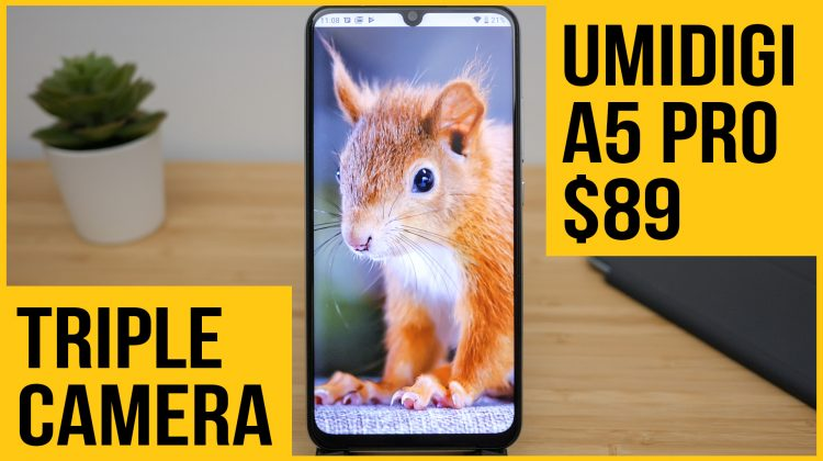 Umidigi A5 Pro review | Ultra wide triple camera for less than $100?