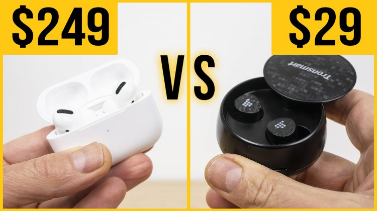 AirPods Pro vs budget earbuds costing 1/10 of the price!