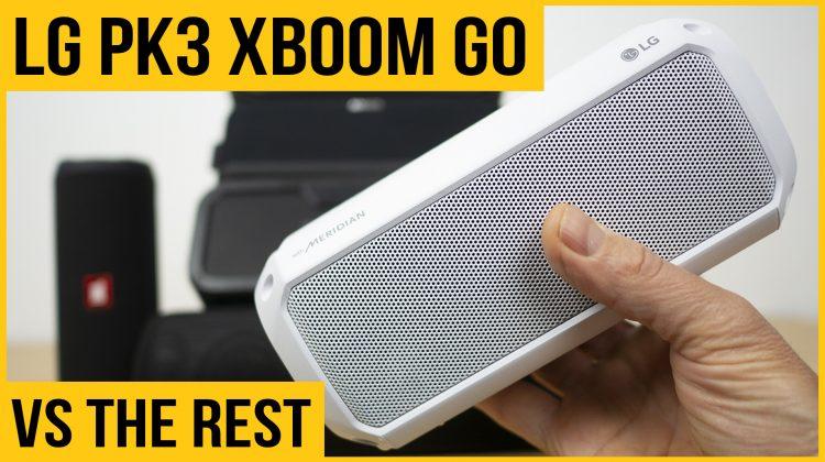 LG XBOOM Go PK3 review | Best budget Bluetooth speaker in 2019? | vs JBL Flip 4, Soundcore Boost, Tribit MaxSound Plus & Tronsmart Force