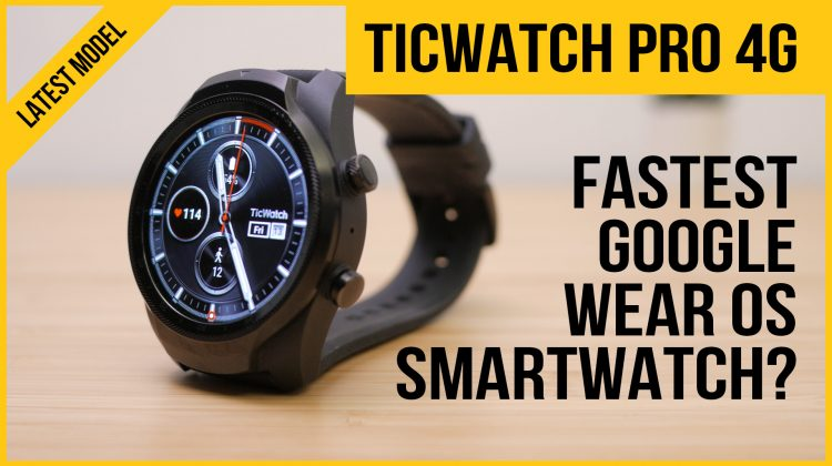 TicWatch Pro 4G review | The fastest Wear OS smartwatch? | Test heart rate & GPS running & cycling