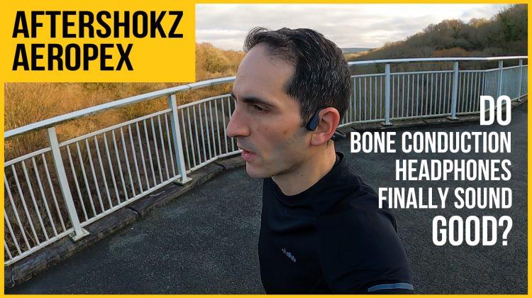 Aftershokz Aeropex review | Best bone conduction headphones? | vs Titanium, AirPods Pro | Run, Cycle