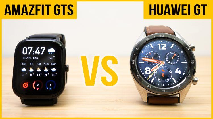 Amazfit GTS vs Huawei Watch GT | Best budget smartwatch for you?