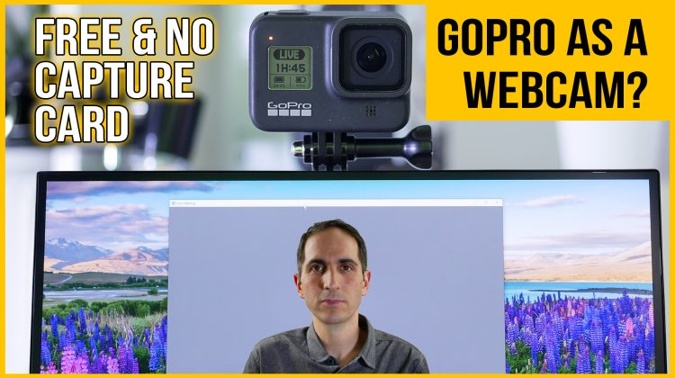 Use your GoPro Hero 8 (or 7) as a webcam for free in Zoom & OBS wirelessly | No capture card needed
