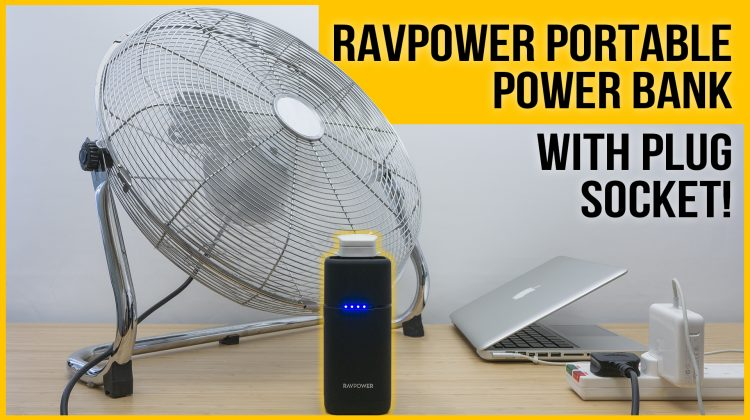 Power bank with AC outlet review | Updated RAVPower PD Pioneer 20000mAh 80W Power House (RP-PB054)