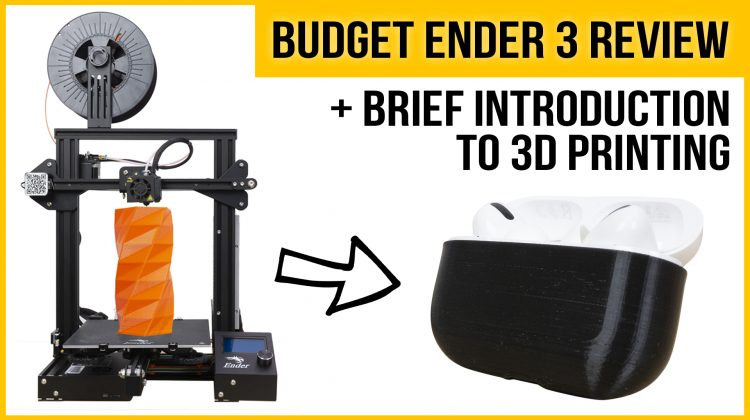Creality Ender 3 review | Best budget 3D printer in 2020? | + Introduction to 3D printing