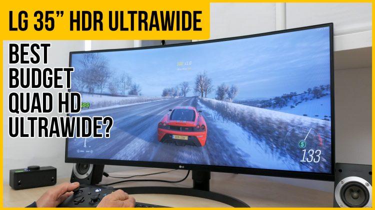 LG UltraWide 35WN73A Monitor Review   35″ 100hz 21:9 QHD HDR USB-C Freesync   Best budget ultrawide?